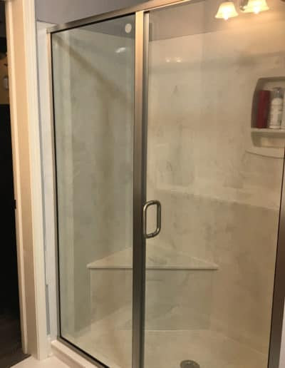 Custom-Framed-sliding-glass-shower-door-by-century-glass-sc