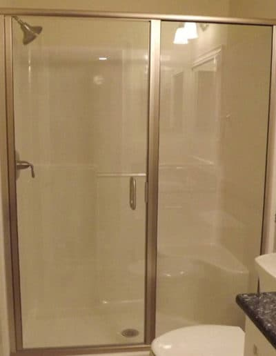 Framed-Shower-Door-And-Side-Panel