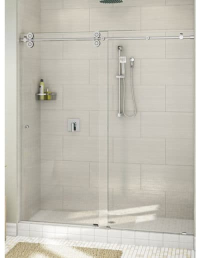Frameless Pro Glide Sliding Shower Door