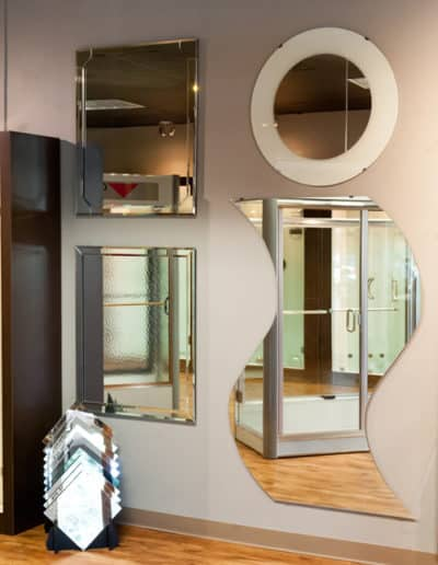 Custom-Cut-Mirrors-In-The-Showroom