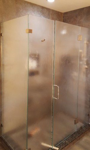 We just love our new shower door by Century Glass