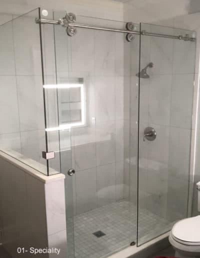 Proglide shower doors