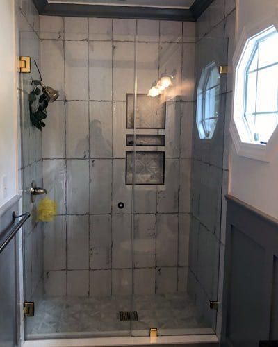 We install dream showers